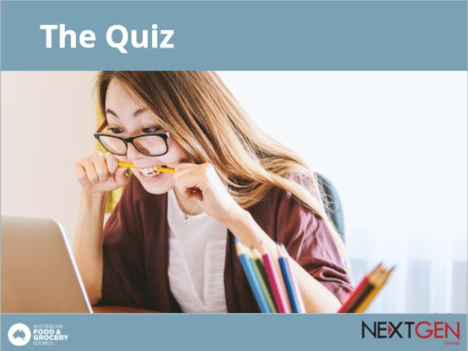 FGCC Assessment Quiz